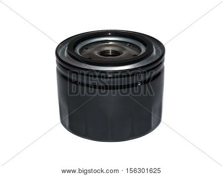 New oil filter car in isolated on white
