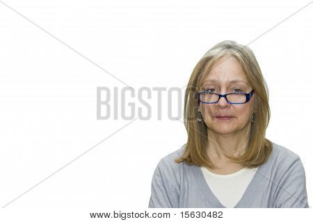Woman Sticks Out Tongue