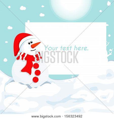 christmas card vector eps10 illustration. christmas card