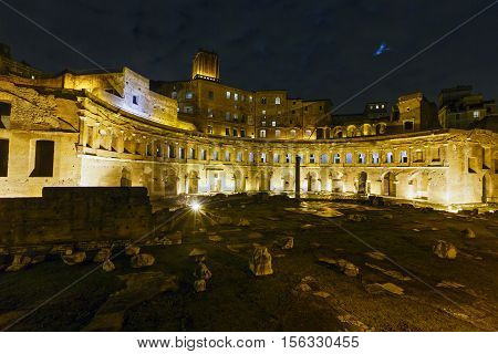 Trajans Market Ruins, Rome.