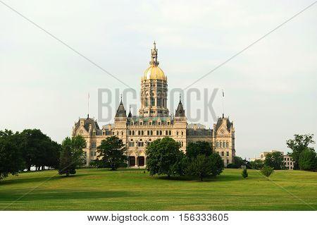 Hartford capitol building and public park for design