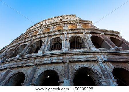 Colosseum (rome. Italy. Europe