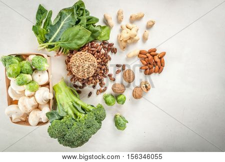 Selection Of Products With A High Content Of Vegetable Protein