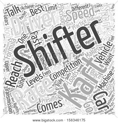 Shifter Kart Racing Why Its Cool word cloud concept