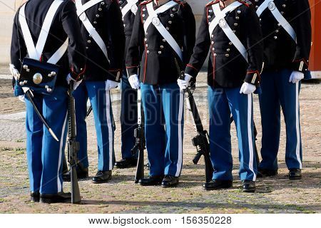 The Royal Guard in Copenhagen - Denmark