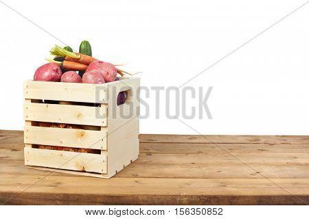 Vegetables box