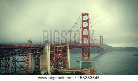 Golden Gate Bridge. San Francisco. United States