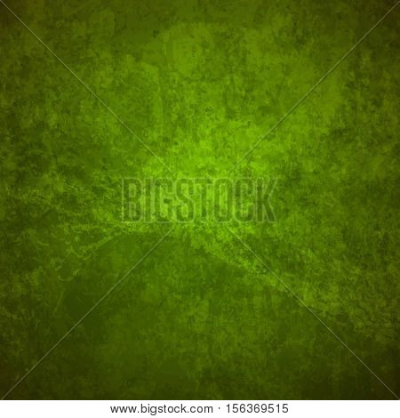 abstract vector grunge background - green and brown