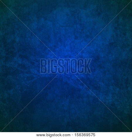 abstract vector grunge background - light and dark blue