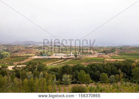 Haro Countryside & Vineyards, La Rioja, Spain