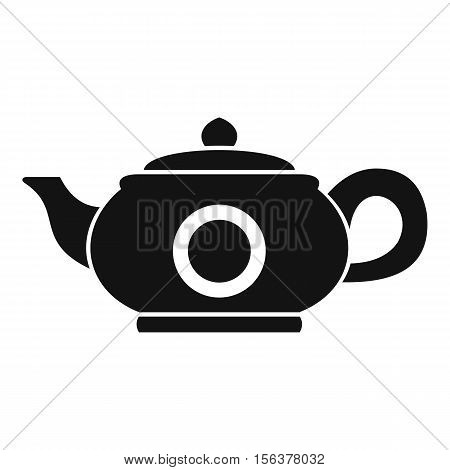 Teapot icon. Simple illustration of teapot vector icon for web design