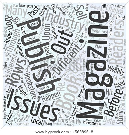 Things You Need to Know about Magazine Publishing word cloud concept
