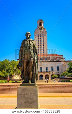 Main Building In Ut Austin