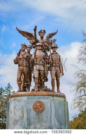Washington Winged Victory Monument