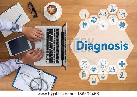 Diagnosis assessment, background, black, blackboard, board, cancer,