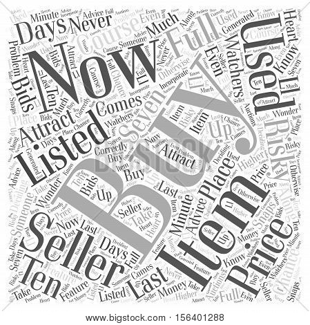 Use Ebays Buy It Now Feature to Your Advantage word cloud concept