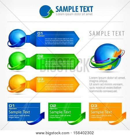 Infographic Elements For Busines