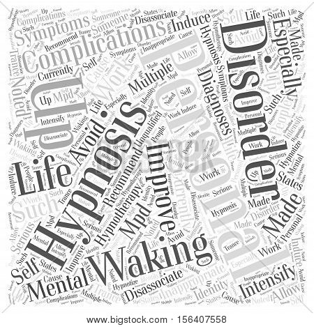Waking up to Improve Personal Life word cloud concept