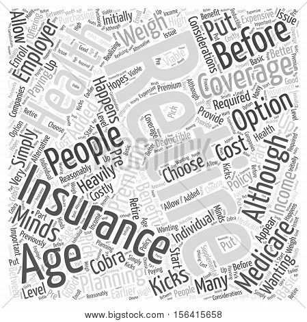 What Happens When I Retire word cloud concept text background
