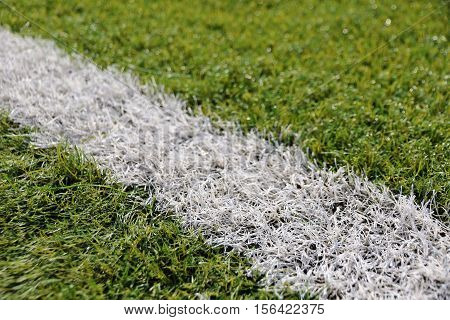 Close-up Synthetic Grass For Football (soccer) Sport Field
