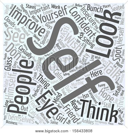 why is it important to improve yourself word cloud concept