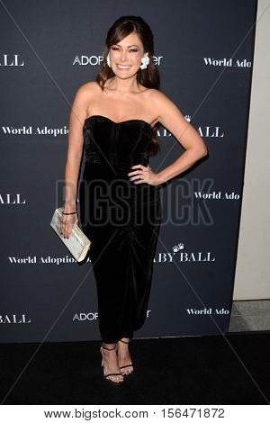 LOS ANGELES - NOV 11:  Lindsay Price at the Annual Baby Ball in honor of World Adoption Day at NeueHouse on November 11, 2016 in Los Angeles, CA