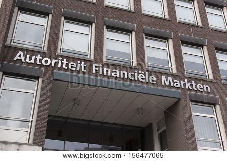 Etters Autorities Financial Market On A Building