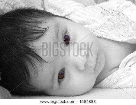 Baby Girl Black And White
