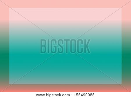 Abstract pink and blue background with a frame. Rectangular backdrop.
