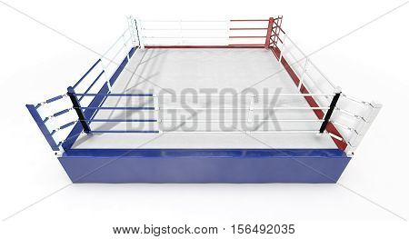 Boxing Ring Modern Isolated