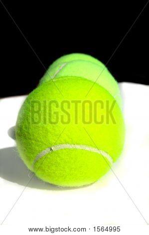 Isolated Tennis Balls