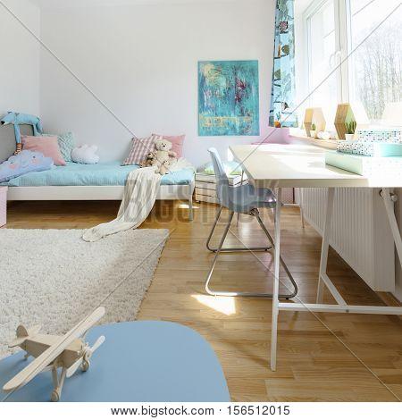 Cosy Modern Children's Room