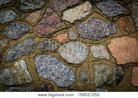 old stonework wall - abstract background