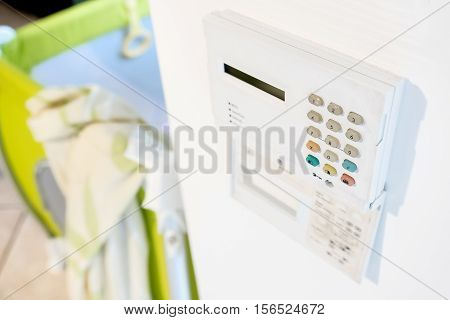 home security system alarm anti theft keypad panel