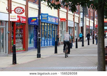 Rotherham Shopping Street