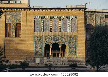 Karim Khani Nook part of Golestan Palace in Tehran capital of Iran