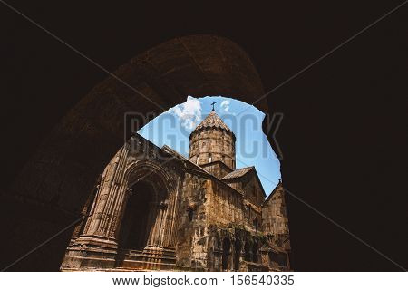 Church Tatev Goris Armenia architektura church build