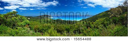 Panoramic Photo of Australian Coastline