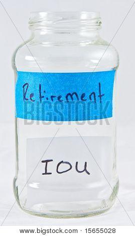 Retirement IOU