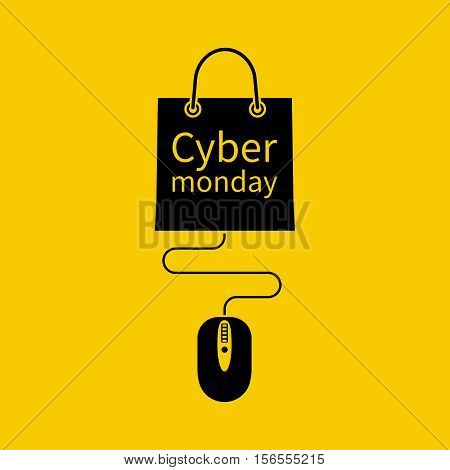 Cyber Monday Concept.