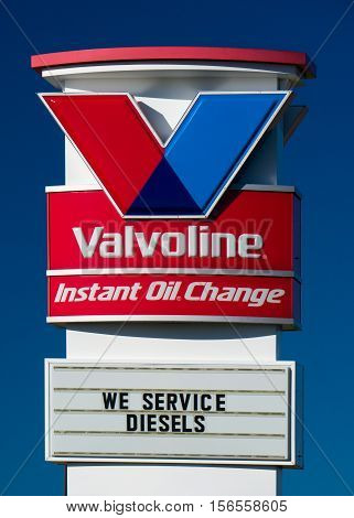Valvoline Instant Oil Change Exterior And Logo