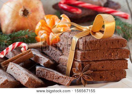 Homemade Mostaccioli For Christmas