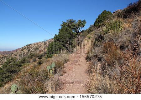 Lost Mine Trail, Big Bend National Park, Texas