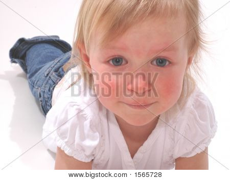 Little Girl With Tears