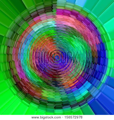 Abstract coloring background of the abstract gradient with visual cubism,mosaic,zigzag and poolar coordinates  effects,good for your project design