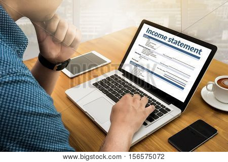 Income Statement Employment Businessman Assessment Balance accounting, accounts, adult,