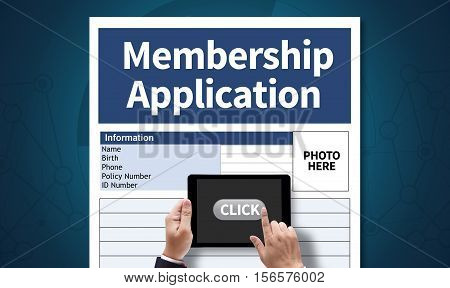 Membership Register To Application Form Member And Membership