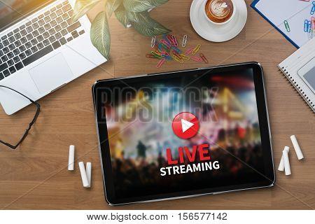 Backup Download STREAMING Computing Digital Data transferring LIVE STREAMING