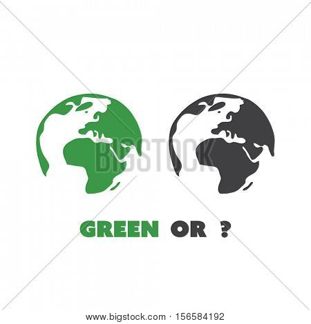 Green Or? - Eco Earth Globe Design Concept