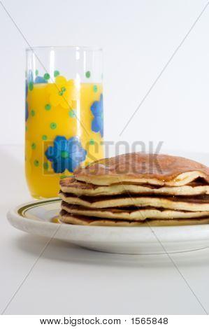Orange Juice And Pancakes